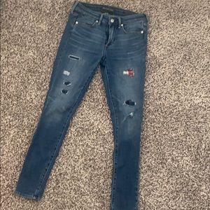 Abercrombie & Fitch Super Skinny Jean